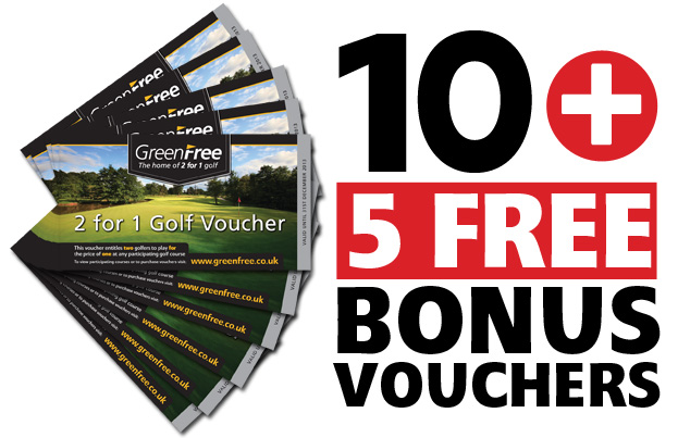 10 GreenFree 2 for 1 Voucher Pack