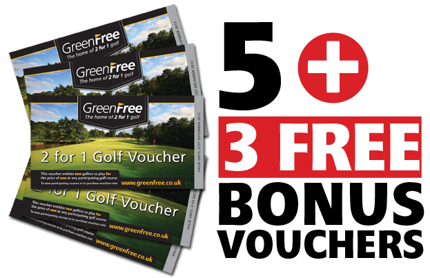 5 GreenFree 2 for 1 Voucher Pack
