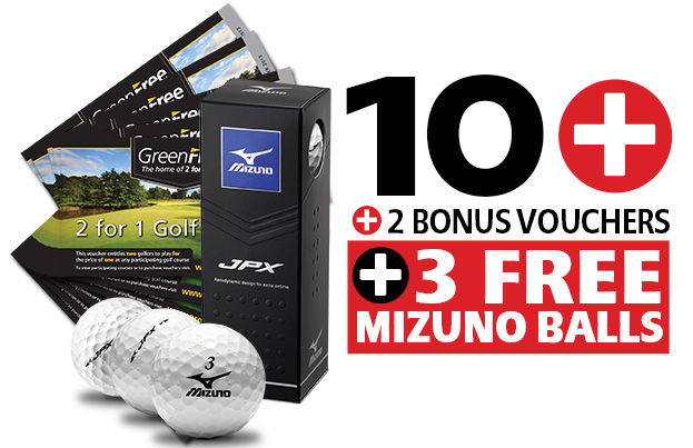 10 GreenFree 2 for 1 Vouchers