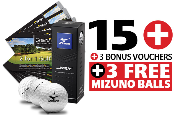 15 GreenFree 2 for 1 Vouchers