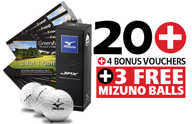 20 GreenFree 2 for 1 Vouchers