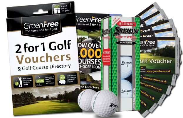 Open Championship Offer 2 -  10 GreenFree Voucher Pack