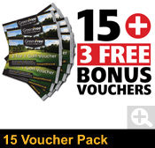 15 GreenFree 2 for 1 Voucher Pack