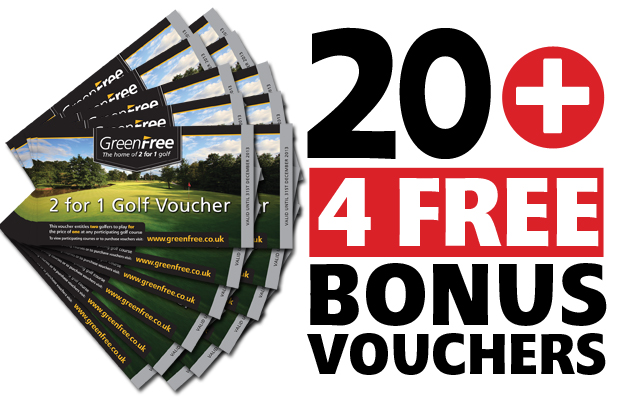 20 GreenFree 2 for 1 Voucher Pack