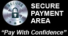 Secure Payment Area - Pay With Confidence